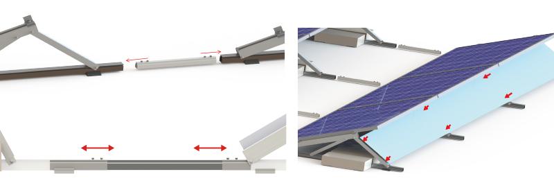 混凝土屋顶支架