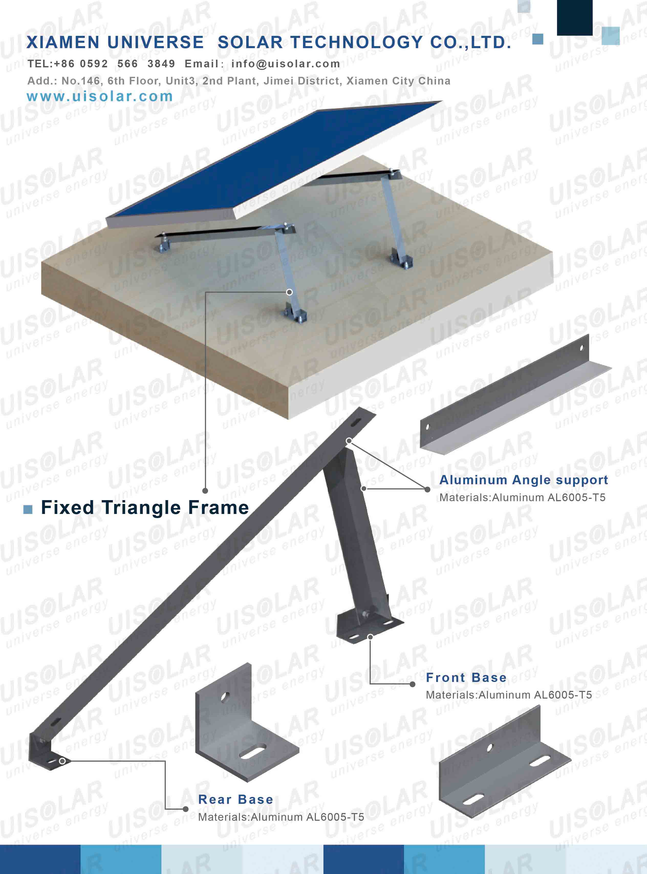 triangle mounting bracket