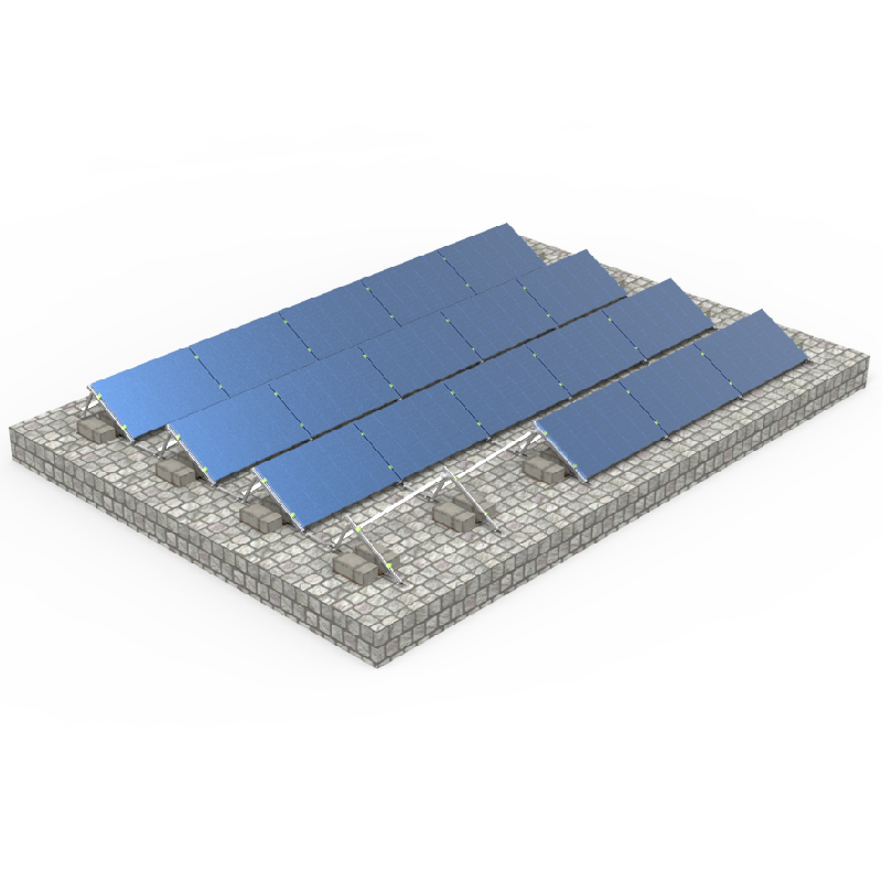 Adjustable Aluminum Ballasted Structure