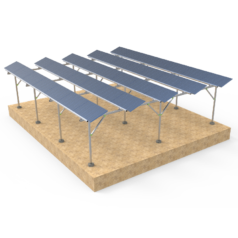 Photovoltaic farmland mounting bracket