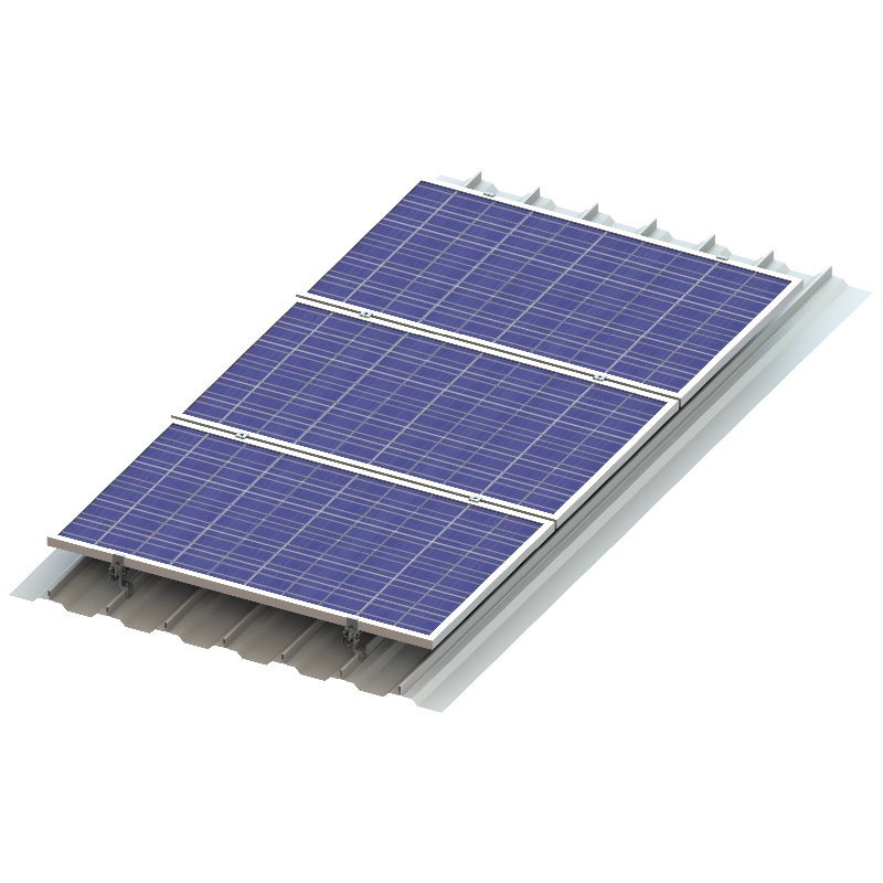 Innovative Solar Tin Rooftop Mounting Solution
