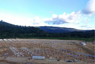 UISOLAR Provided Solar Racking For 3MW PV Project In Malaysia